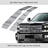 APS Compatible with 2015-2018 Chevy Silverado 2500 HD 3500 HD Billet Grille Insert C66318A