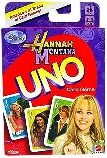 Hannah Montana 2 UNO Game