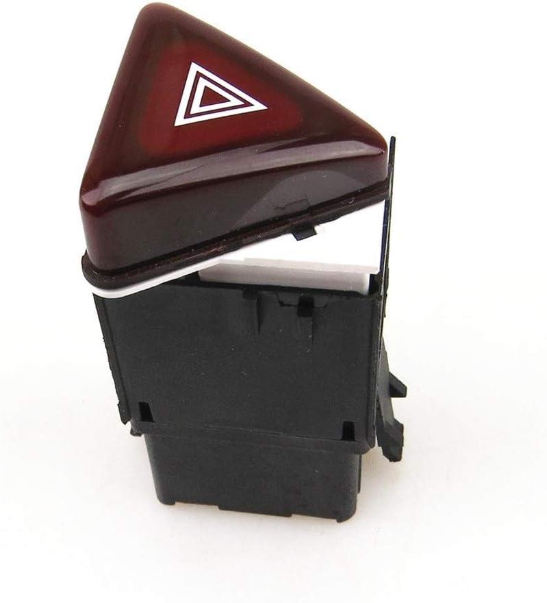 ZXC READXT Dark Red Hazard Warning Flash Switch Button Emergency