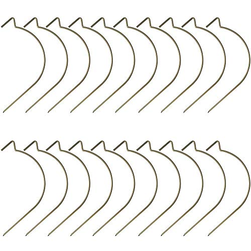 Picture Hangers Super Hooks Holds Up to 100lbs No Mark No Tools Need Easy to Hang Mirrors, Frames, Clock, Shelves, or Planters for Home Decorations Office (20)