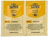 2x levadura de hidromiel - 10g / 25L - Mangrove Jack's - levadura de hidromiel seca - | Mead | Levadura de vino | Vino blanco de levadura y vino tinto
