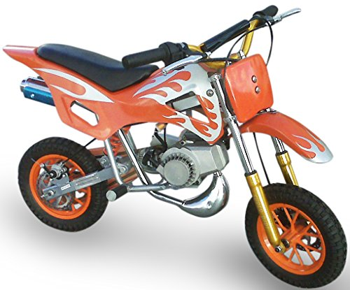 KENROD Moto-Cross de Gasolina | Moto Cross | Mini Moto dos tiempos | Motocross de 49CC | Color Naranja