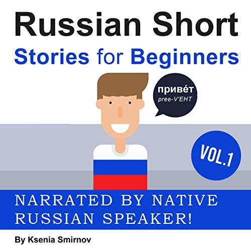 Russian Short Stories for Beginners cover art