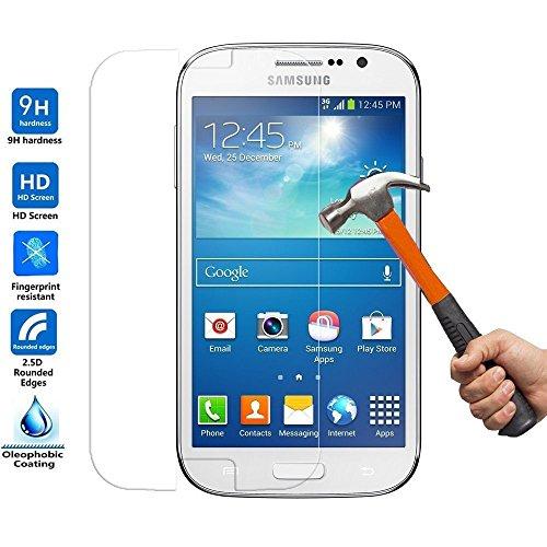 Protector antigolpes de pantalla de cristal templado para Samsung Galaxy Grand...