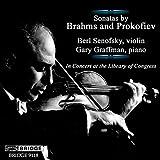 Brahms; Prokofiev - Violin Sonatas