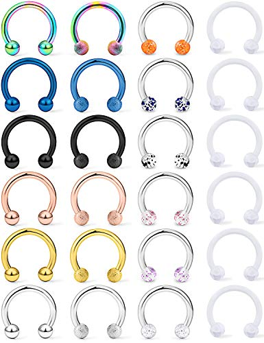 Top septum ring variety pack for 2021