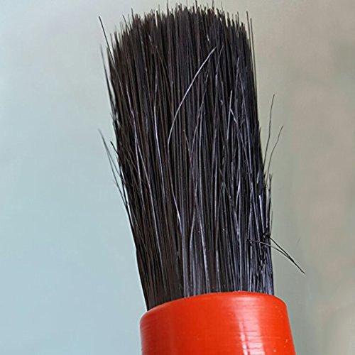 チャミ洗車ブラシディテールブラシパーツクリーニングブラシホイールブラシトリムやエンブレムなど細かい部分の汚れを取り除くブラシ5本セット豚毛