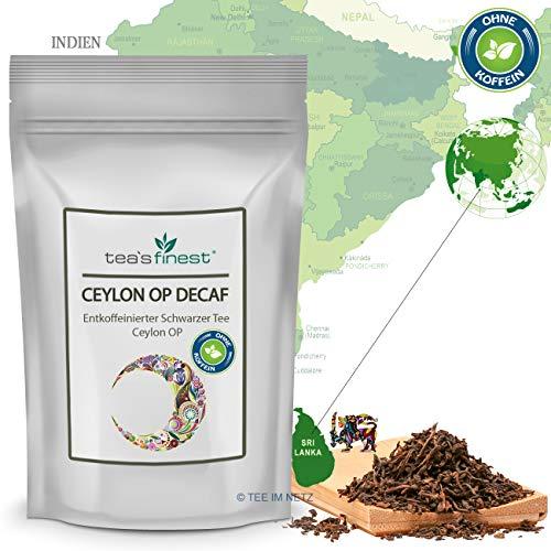 Schwarzer Tee Ceylon OP (entkoffeiniert) (100 Gramm)