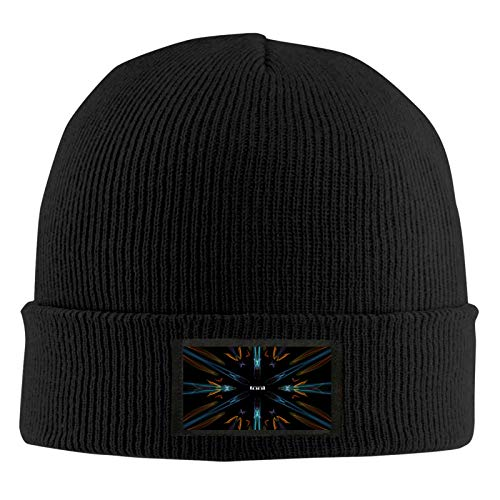 Tool Band Music Unisex Knitted Beanie Hats Trendy Warm Chunky Soft Stretch Winter Cap Black