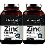 2 Pack Maximum Strength Zinc 100mg, Zinc Picolinate Supplement, 120...