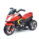 Children Ride Toy Car,with Music Rechargeable 3-Speed Control,Electric Scooter Motor Bicycle,Toy Cars