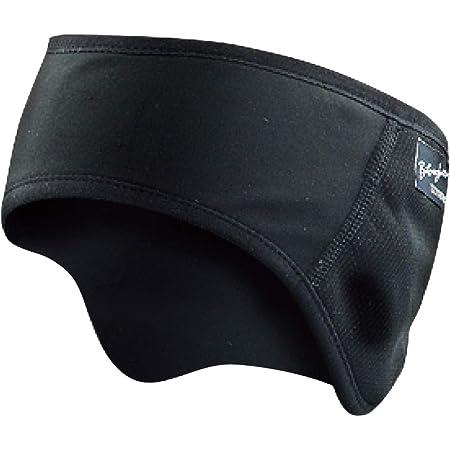 おたふく手袋 ボディタフネス 発熱防風 保温 イヤーウォーマー ブラック JW-127
