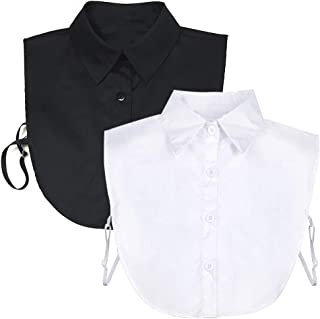 Fake Collar Detachable Dickey Collar Blouse Half Shirts...