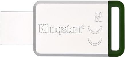 Kingston 金士顿 DT50/16GB USB3.1 金属U盘 绿色