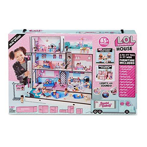 L.O.L Surprise! House includes 85+ surprises