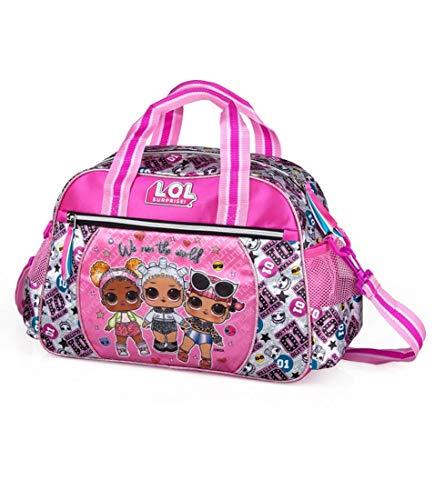 J. M. Inacio, Lda LOL Surprise Sporttasche klein 38x27x17 cm Trainingstasche Reisetasche Mädchen Kinder Teenager Schule