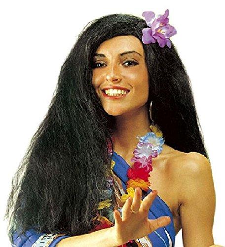 Mondial-Fete - Perruque Aloha avec Fleur