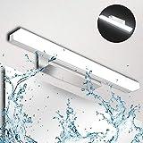 Lámpara de Espejo Baño LED 9W Ketom IP44 Aplique Espejo LED Blanca Fría 6000K...