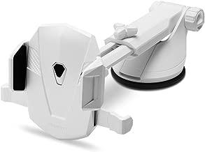 Spigen Kuel TS35 OneTap Car Phone Mount Universal Car Phone Holder Compatible with Most Smartphones - White