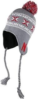 Captivating Headwear Unisex NCAA Collegiate Knit Tassel Knit with Pom Hat