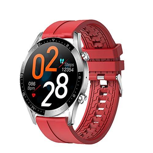 LHL GT05 Bluetooth Llamada A Prueba De Agua Presión Arterial Monitoreo De Ritmo Cardíaco Ultra-Thin Smart Men's Y Pulsera Deportes para Mujeres,A
