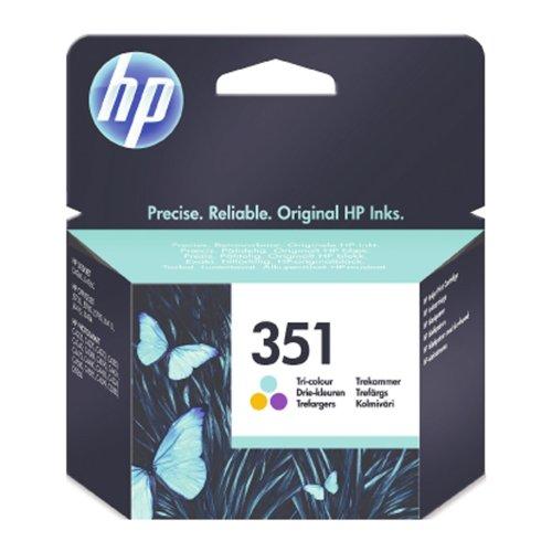HP No. 351 Tri-cartucho de tinta a (CB337EE)