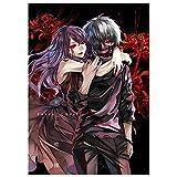 Tianmeijia Kaneki Ken Rize Tokyo Ghoul Anime Dictionary Art Print Poster Picture Book Manga