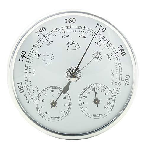 WTOKL Wetterstation Barometer Höhenmesser Angeln Temperatur und Luftfeuchtigkeit Home Wetterstation Instrument