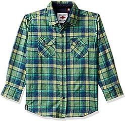Gini & Jony Boys  Plain Regular Fit Shirt