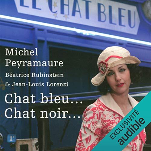 Chat bleu... chat noir... audiobook cover art