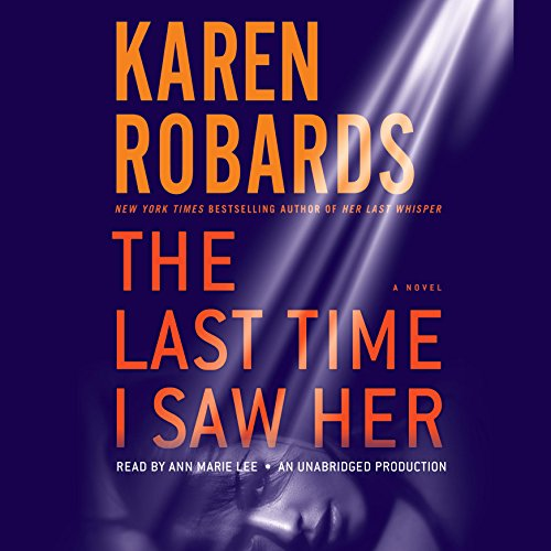 The Last Time I Saw Her audiobook cover art