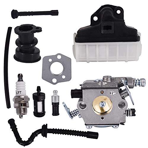 Carburetor Fits for Stihl 021 023 025 MS210 MS230 MS250 Carb Intake Hose Spark Kit