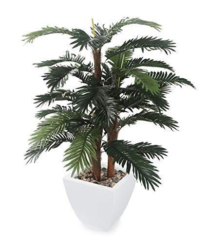 """Closer2Nature Artificial 4ft 6"""" Areca Palm Tree - Portofino Planter Not Included"""
