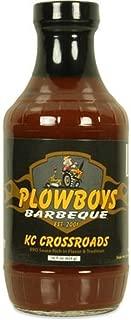 Plowboys Barbeque KC Crossroads BBQ Sauce 16 ounce