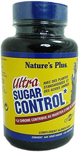 Nature s plus - Ultra sugar control - 60 comprimés - Combat graisses et sucres