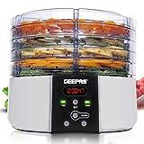 Best Fruit Dehydrators - Geepas 520W Digital Food Dehydrator – Food Dryer Review