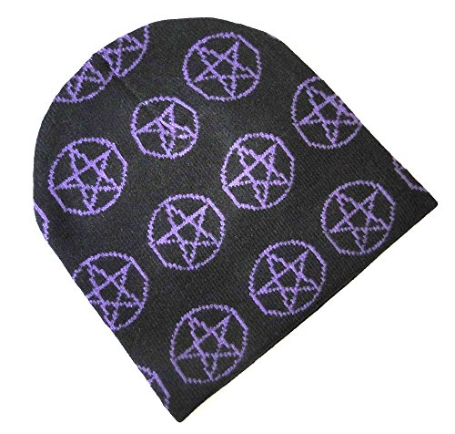 BONNET croix satanique diable Gothique Adulte taille unique