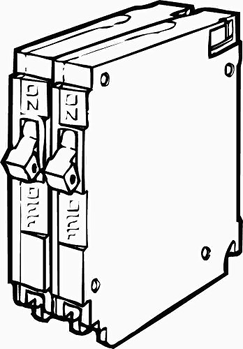 Siemens Q1515 - Interruptor de circuito de doble polo (15 amperios)
