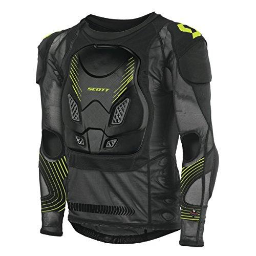 Scott Softcon MX Motocross DH Protektorenjacke schwarz 2017: Größe: M
