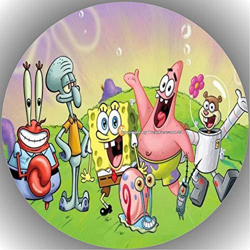 Premium Esspapier Tortenaufleger Spongebob T5