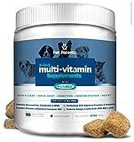 Pet Parents USA Dog Multivitamin 4g 90c- Omega 3 For Dogs + Glucosamine for Dogs + Dog Probiotics + MSM for Dogs, Multivitamin for Dogs, Dog Vitamins + Dog Immunity, Vitamins For Dogs & Puppy Vitamins