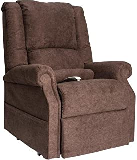 NM-101 (Chocolate) Windermere Mega Motion Ultimate Power Lift Recliner Infinite Position Lay Flat And Zero Gravity Recliner. Free Curbside Delivery.