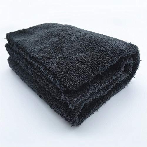 NO BAND merk Super-Ruhm Edgeless pluche microvezel handdoek 40x40cm 500GSM doeken om te polijsten polijsten oppervlakken Car Wash Grey Edgeless 500GSM