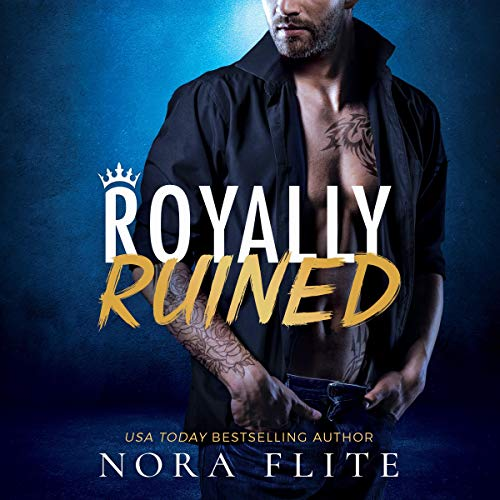 Royally Ruined audiobook cover art