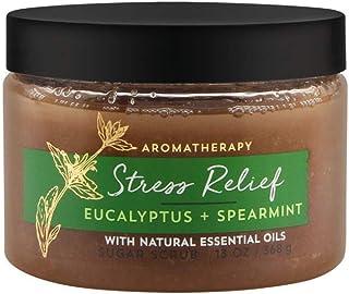 Bath and Body Works Aromatherapy Stress Relief - Eucalyptus + Spearmint Sugar Scrub 13 Ounce