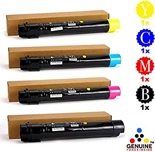 Professor Color Refurbished Toner Cartridge Replacement for Xerox Phaser 7800 High Capacity Set 106R01566, 106R01567, 106R01568, 106R01569