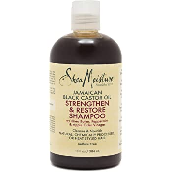 Shea Moisture Jamaican Champú fortalecedor y restaurador de aceite ...