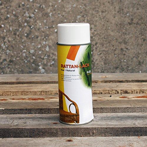 BIENENKORB24 Pflegelack für Rattan & Peddigrohr 400 ml- Transparent