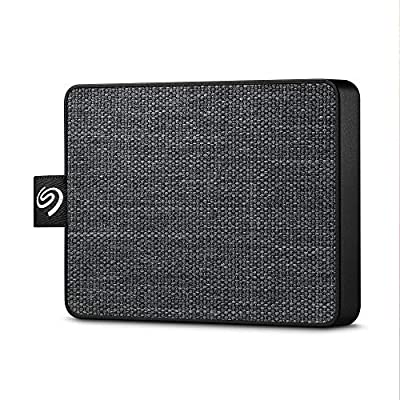 Seagate One Touch SSD 1TB External Solid State Drive Portable – Black, USB 3.0 for PC Laptop and Mac, 1yr Mylio Create, 2 months Adobe CC Photography (STJE1000400) from SEAGATE