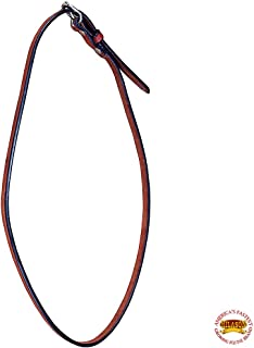 HILASON Throat Latch Replacement Strap Horse Headstall Harness Leather Mahogany